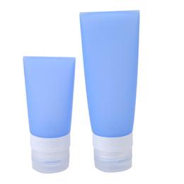 $enCountryForm.capitalKeyWord UK - 30ML 80ML Cute Mini Travel Silicone Packing Bottle Lotion Shampoo Tube Container Storage Bottles 17pcs lot