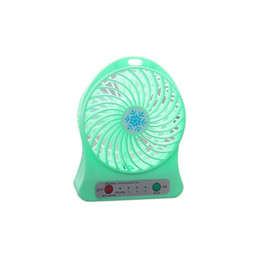 Usb fan for laptop desk online shopping - high quality Portable Size Rechargeable Cooler Cooling Fan Air Cooler Mini Operated Desk USB Fan for PC Laptop Computer Best Gift