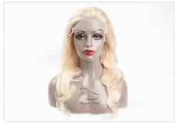 $enCountryForm.capitalKeyWord Australia - Evermagic 613 Honey Blonde Pre Plucked Brazilian Wig Remy Hair Body Wave Wig Lace Front Human Hair Wigs for Black Women