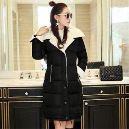 $enCountryForm.capitalKeyWord NZ - Winter Women Cotton Jacket Casual Hooded Ladies Medium Long Section Quality S-2XL Thick Warm Parkas Female Loose Overcoat Vs082