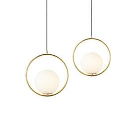 China Round Globe Pendant Lights Bar Restaurant Kitchen Fixtures Glass Ball Pendant Lamps Hang Lamp lamparas luminaire avize cheap room light fixtures suppliers