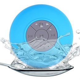 $enCountryForm.capitalKeyWord UK - Portable Subwoofer Shower Car Waterproof Wireless Bluetooth Speaker Hands-free Calls Music with Sucker MIC For Phone PC