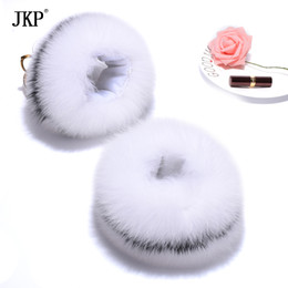 Men's Accessories Useful Fox Fur Cuffs 2018 Genuine Fox Fur Cuff Arm Warmer Lady Bracelet Real Fur Wristband Glove S9