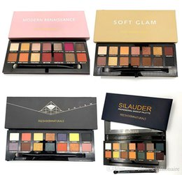 Matte shadow kit online shopping - Hot Colors Modern Renaissance SUBCULTURE SOFT GLAM PRISM Eye Shadow Palette Limited Eyeshadow Kit With Brush DHL
