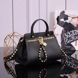 022d303357f7 2018 Spring Summer fashion women designer handbags luxury brand name bags  good quallity hardward classical rivet messenger crossbody bag