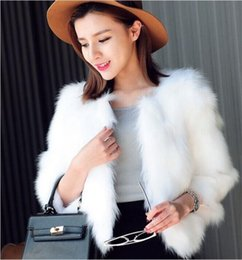 Women's Clothing Creative High Quality Womens Vest Coat Luxury Faux Fox Fashion Party Coat Vests Winter Furs Ladies Coats Jacket Gilet Veste 3xl2018 New Jackets & Coats