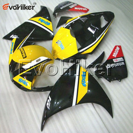 Black Yellow Yamaha R1 2018