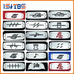 PrettyBaby ANIME Naruto Headband 95cm Leaf Village Logo Konoha Kakashi Akatsuki Members Cosplay Costume Accessories blue red black in stock from pokemon figures for free suppliers