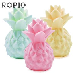 Led Mood Lighting Bedroom Online Shopping   ROPIO LED Night Light Lovely  Silicone Pineapple Night Lamp