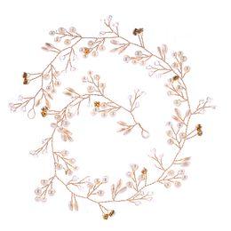 Rhinestones Jewelry Sets UK - Bridal Flower Wedding Headpiece Sets Jewelry Crowns Bridal Headpieces New Bridesmaid Handmade Hairband Wreath Bridal Headdress