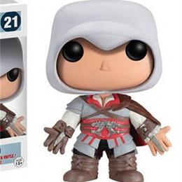 $enCountryForm.capitalKeyWord NZ - Funko POP Assassin Creed Ezio Vinyl Action Figures Toy Gift For Children Classic Game Garage Kit Doll 28yf WW