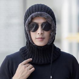 $enCountryForm.capitalKeyWord NZ - Winter Wool Knitted Hat Beanie Men Scarf Skullies Beanies Winter Hats For Women Men Caps Gorras Bonnet Mask Brand Hats