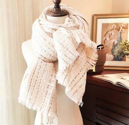c7e9307099bc9 Femmes de luxe épais écharpes en cachemire 210 * 80 cm longues écharpes et  châles enveloppe hijabs Pashmina marque designer écharpe d'hiver foulard  femme