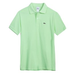 b7f95bf0697 2018 Brand Designer Polo New Summer Luxury Brand Embroidery Mens Polo Shirts  Fashion Polo Shirt Men Women High Street Casual Top Tee