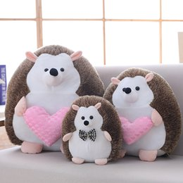 $enCountryForm.capitalKeyWord NZ - 1pc 20cm Sot Kawaii Couples Hedgehog Plush Toys Staffed Lovely Animal Plush Dolls Home Wedding Party Toys for Kids Gift