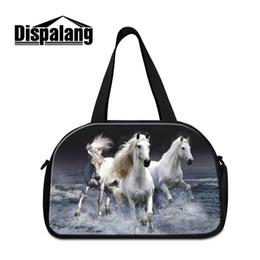 Lightweight Animal Design Travel Shoulder Duffel Bag Mens Workout GYM  Duffle Bag With Shoes Pocket for Teen boys Handlebag Sports Outdoor 919d834c97852