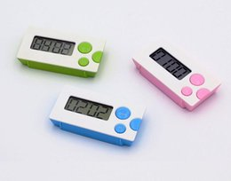 Wholesale New fashion Countdown Timer minute seconds LCD Digital Lab Kitchen Mini Timer Relay Digital LCD Timer SN311
