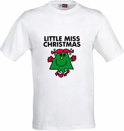 Full Color Printed T Shirts NZ - LITTLE MISS CHRISTMAS GIFT FULL COLOR SUBLIMATION T SHIRT Men'S Funny Harajuku T-Shirt Top Tee Casual Printed Tee Plus Suze
