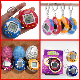 New virtual games online shopping - New Retro Game Toys Pets In One Funny Toys Vintage Virtual Pet Cyber Toy Tamagotchi Digital Pet Child Game Kids Free Ship
