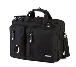 Laptop Bag Shoulder Straps NZ - FreeBiz Laptop Bag Multi-function Briefcase with Handle and Shoulder Strap Fits 15 15.6 17 17.3 18 18.4 Inch Laptop