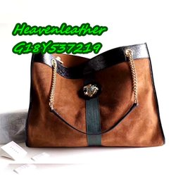 Chinese  DGG0819 - sherryfactoryoutlets ! 45cm 537219## Famous Designer women Composite Bag. 100% TOP a+quality (Suede & cowhide) shopping bags. manufacturers