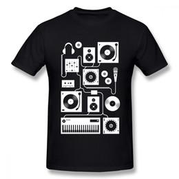 $enCountryForm.capitalKeyWord NZ - Man Four To The Floor Teal T Shirt Unique Design Homme Tee Shirt Music Disc T Shirt Plus Size For Man T