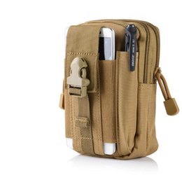 $enCountryForm.capitalKeyWord Canada - Outdoor sports the molle tactical pockets male 5.5 6 inch waterproof phone bag wear belt running hang bag