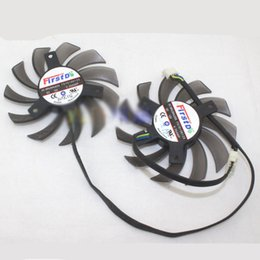 $enCountryForm.capitalKeyWord Australia - 2pcs set for Sapphire FD7010H12S 12V 0.35A 4pin 75mm Hole distance 39mm fan