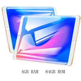 "Dual Sim Tablets 4gb Ram Australia - 10"" 4G Tablet PC Android 7.0 Google Certified Dual SIM 4GB RAM 64GB Storage Phone Calling 8MP WIFI FM GPS Octa Core Processor"