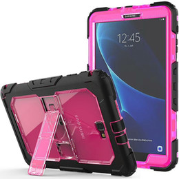 tab universal case NZ - Heavy Duty Case For iPad Mini 1 2 3 4 Air Pro 9.7 10.5 Rugged Tough Impact Hybrid Armor Shockproof Cover Silicone PC Clear Defender Shell 1p