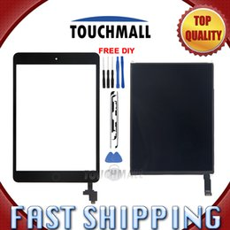 Discount lcd ic chip - For New LCD Display+Touch Screen+Home Button+IC CHIP For Mini 2 A1489 A1490 A1491 Free Shipping