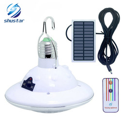 Chinese  Waterproof 22 LED Solar Light Outdoor Garden Light Solar Powered Yard Hiking Tent Camping Hanging Lamp Remote Control manufacturers