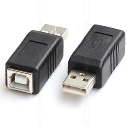$enCountryForm.capitalKeyWord Australia - 1 Piece USB 2.0 Type A Male to Type B Female USB Printer Scanner Extender Adapter