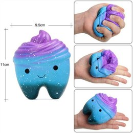 $enCountryForm.capitalKeyWord NZ - 11*9*6.5CM Squishy Toy star sky blue tooth pumpkin squishies 4.4''*3.6''*2.6'' Slow Rising Soft Squeeze Cute Strap gift Stress children toys
