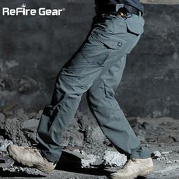 $enCountryForm.capitalKeyWord Canada - ReFire Gear M3 Waterproof Tactical Pants Men SWAT Special Army Combat Cargo Pants Multi Pocket Rip-stop Cotton Trousers