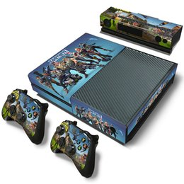 XboX one gamepad online shopping - Fortnite Game Sticker Vinyl For Microsoft Xbox One Controller Decal Skins For Xbox One Gamepad Cover For Xbox One PVC Protector