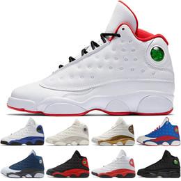black cat boots 2019 - 13 13s Men Basketball Shoes Phantom Chicago GS Hyper Royal Blacks Cat Flints Bred Love Respect Black mens sports sneaker