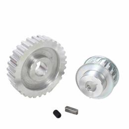 Vente en gros Nouveaux raccords de tour ménage 2pcs / set CJ0618 Miniature Vitesse synchrone en métal