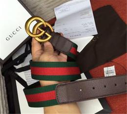 Designer Leather Trousers Australia - 2018 Designer Belts Men High Quality Mens Belt 100% Genuine Leather Smooth Buckle Belts for Men's Trousers Belt with Box