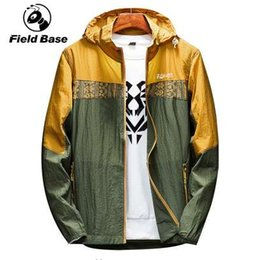 $enCountryForm.capitalKeyWord Canada - Field Base Brand Korean Edition Jacket Hooded Sun-Protective Clothing Man Summer Jacket Men Anorak Windbreaker Jaqueta Masculina