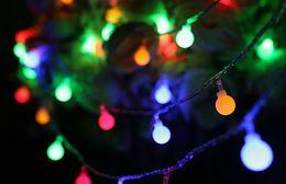 $enCountryForm.capitalKeyWord Australia - 10M 100LED String lights 110V 220V IP44 outdoor multicolor LED string lights Christmas lights Festive Wedding Evening Decoration