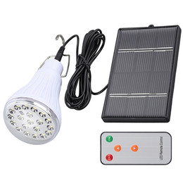 China Indoor Dimmable DC6V 20 Led 2.5W solar light led light outdoor garden decoration solar Camping Lights 1W solar panel lamp remote control cheap 1w solar suppliers