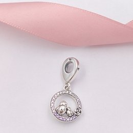 7a316dc0a Authentic 925 Sterling Silver Beads Mother & Baby Bird Dangle Charm Charms  Fits European Pandora Style Jewelry Bracelets & Necklace 797060NP