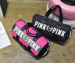 love Pink Travel Bag Secret Storage Bag organizer Waterproof Victoria  Casual Beach Exercise Women shopping Bag 1PCS d7dbc6d23772a