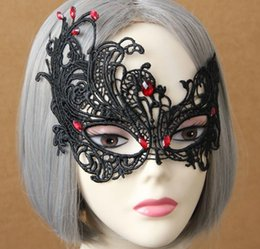 $enCountryForm.capitalKeyWord Australia - a79 Halloween mask half face female mask fun face change ornaments free shipping