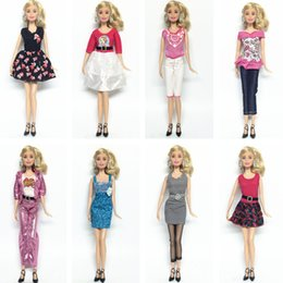 Girl doll suit online shopping - 8 Style elegant girl dress suit Doll Clothes For quot Gift Dolls Accessories