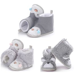 $enCountryForm.capitalKeyWord Australia - 2018 Newborn Winter Warm Plush Snow Boot Baby Infant Boy Girl Winter Thick Snow Boots Children Soft Crib Prewalker Shoes 0-18M