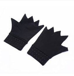 $enCountryForm.capitalKeyWord NZ - Magnetic Therapy Fingerless Gloves Arthritis Pain Relief Heal Joints Braces Supports Health Care Tool