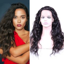 $enCountryForm.capitalKeyWord Australia - Fashion top beauty aaaaaaaa 100% unprocessed virgin remy human hair long natural color big curly full lace cap wig best for women