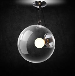 Discount vintage ball lamp - Modern European Vintage Glass Ball Ceiling Lamp Industrial Retro Bedroom Balcony Corridor Glass Ceiling Light Free Shipp